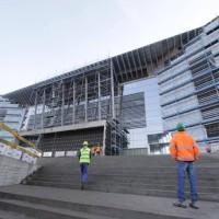 Budowa hali w Lubinie (FOTO)