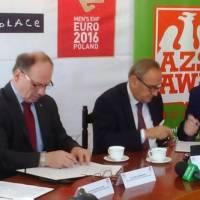 Umowa o współpracy na linii ZPRP – AWF Wrocław