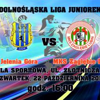 JUNIORKI LIVE: KPR Jelenia Góra – MKS Zagłębie Lubin