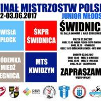 Finał MP juniorów młodszych w Świdnicy!