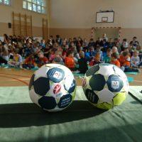 W Szklarach promowali piłkę ręczną
