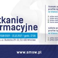 SMS Junior Wrocław – rekrutacja
