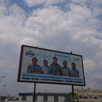 Siódemki Miedź Legnica na billboardach!