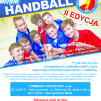 ",,Karkonoski Mini Handball"" pod patronatem DZPR"