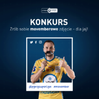 Movember w PGNiG Superlidze