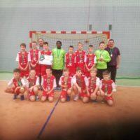Chłopcy Siódemki Huras wygrali turniej w Obornikach Śląskich