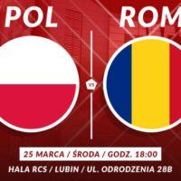 Rumunia zagra w Lubinie!