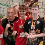 Rozdanie medali dla młodzików